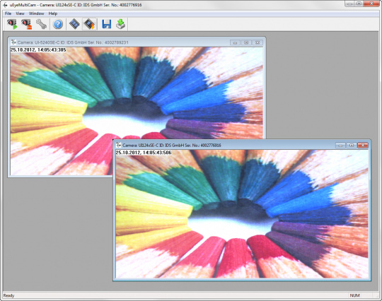 Multi Cameras - IDS Software Suite