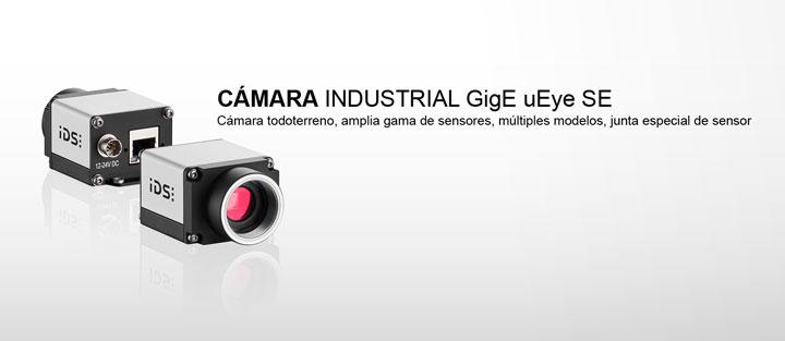 ---IDS cámara industrial GigE uEye SE, Ethernet con memoria gráfica de 60 MB