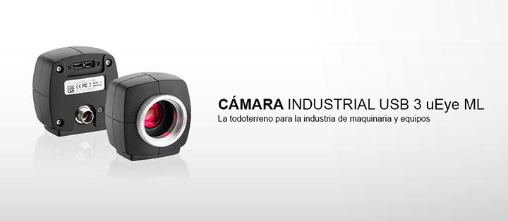 ---IDS cámara industrial USB 3 uEye ML avec sensores CMOS, alta resolución, increíblemente rapido, más compacta, fácil y robusta