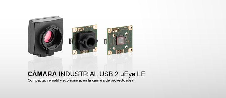 ---IDS cámara industrial USB 2 uEye LE, board level cámara CMOS con montura C/CS o con soporte de objetivo M12 / M14