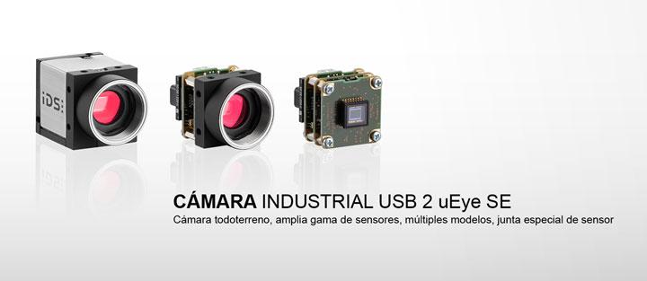 ---IDS cámara industrial USB 2 uEye  SE, cámara CMOS en versión carcasa y versión board level