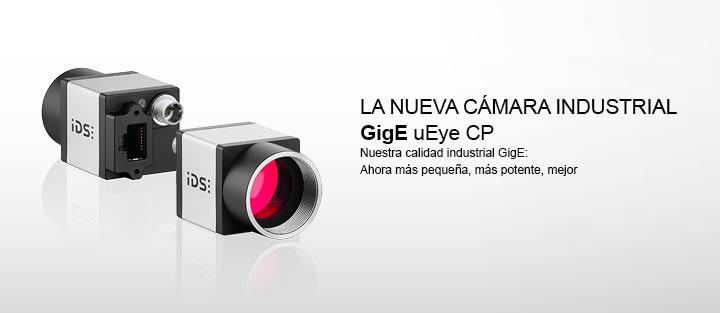 ---La nueva cámara industrial GigE uEye CP - Nuestra calidad industrial GigE: Ahora más pequeña, más potente, mejor