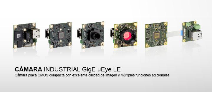---IDS GigE uEye LE cámara industrial, con sensores de CMOS, compacta, board level
