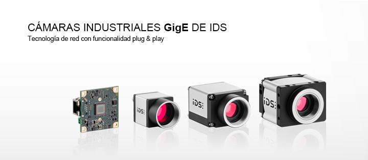 ---IDS cámara GigE uEye, cámara Gigabit Ethernet, versión carcasa y versión board level, cámara CMOS