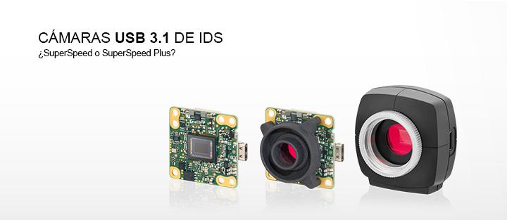 ---USB 3.1 cameras de IDS con conector USB Type-C