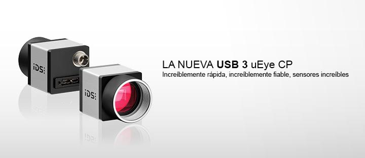 ---IDS cámara CMOS, uEye cámara industrial USB 3.0 CP, alta resolución, muy sensible, ultrarrápida