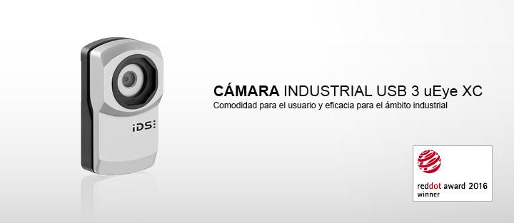 ---IDS cámara industrial USB 3 uEye XC con autofoco, Full HD, 16x zoom digital, 13 megapíxeles, CMOS sensores y reconocimiento facial