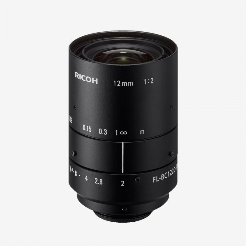 """Objetivo, RICOH, FL-BC1220-9M, 12 mm, 1"""""""