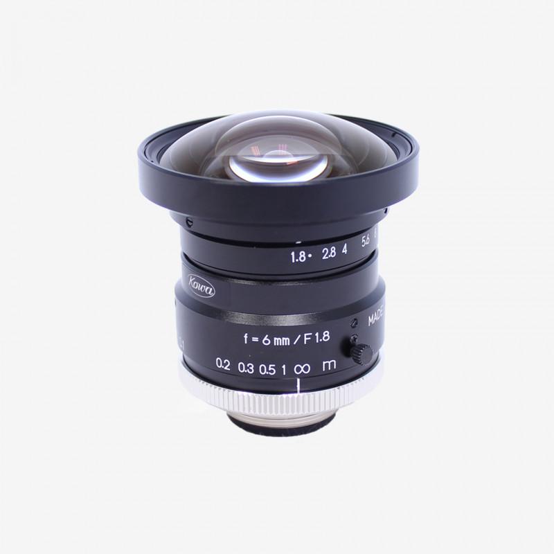 "Objetivo, Kowa, LM6HC, 6 mm, 1"""