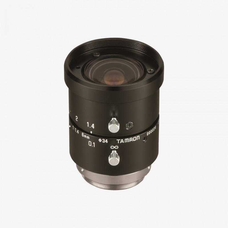 """Objetivo, Tamron, M118FM06, 6 mm, 1/1.8"""""""