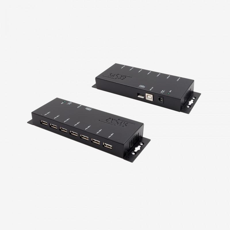 Hub USB 2.0, 7 puertos, EX-1178