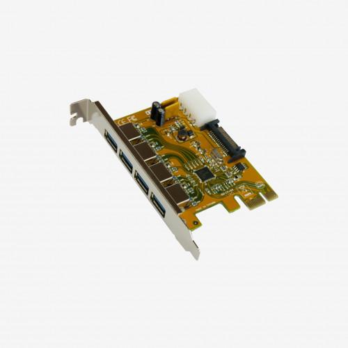 Tarjeta PCI Express USB 3.0, 4 puertos (EX-11094)