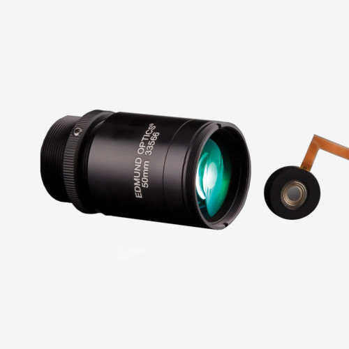 "Objetivo, Edmund, TECHSPEC Cx series, 50 mm, 2/3"""