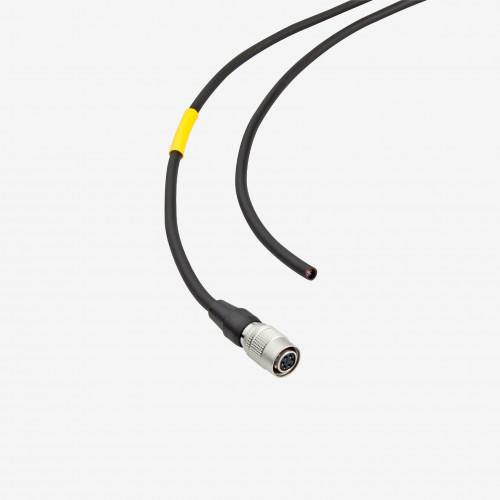 E/S + alimentación  eléctrica, cable estándar, recto, 5 m
