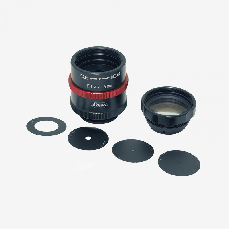 Lens, Kowa, LM16JCM-WP, 16 mm, 2/3""
