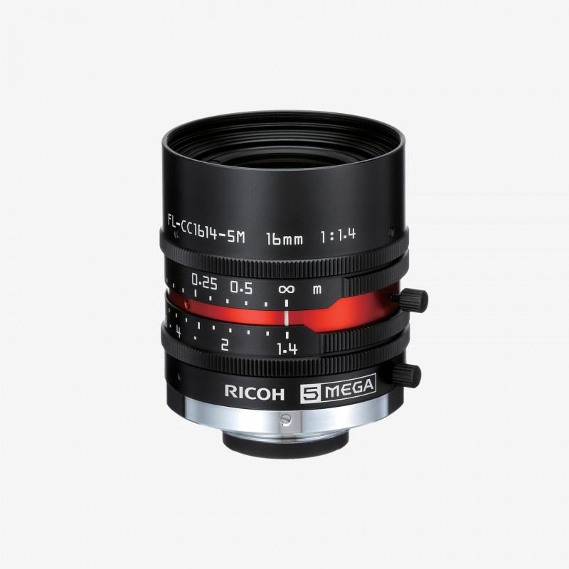 "Objetivo, RICOH, FL-CC1614-5M, 16 mm, 2/3"""
