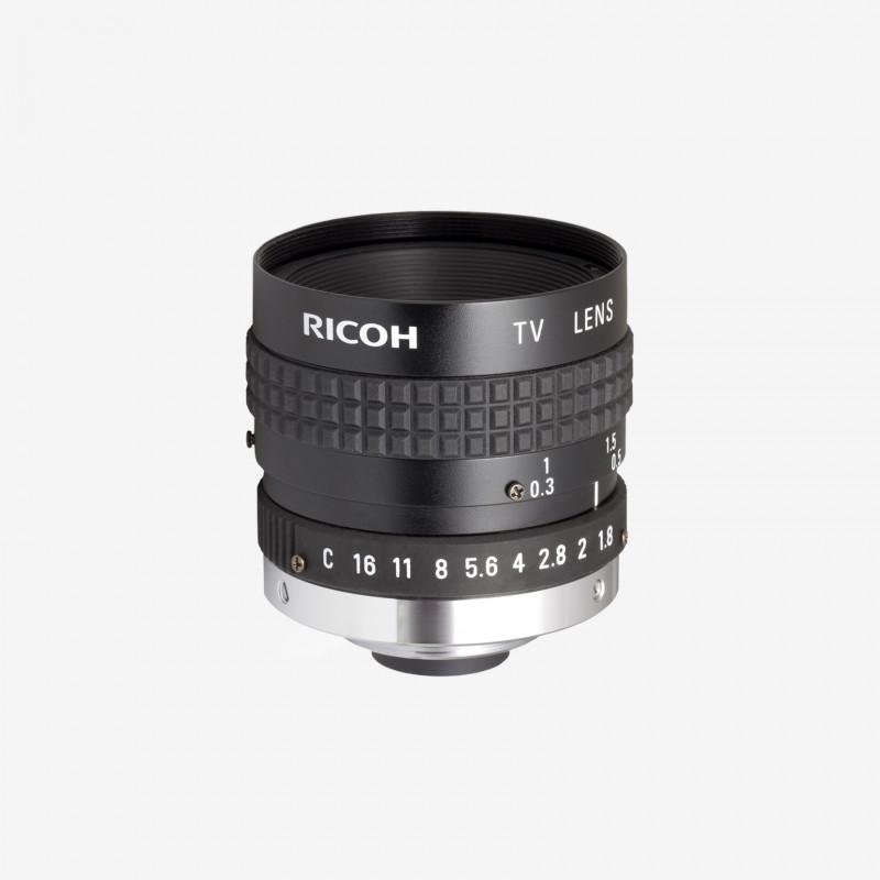 "Lens, RICOH, FL-CC1614A-VG, 16 mm, 2/3"" C-Mount. 2/3"". 16 mm. Ricoh. AE005020120001"