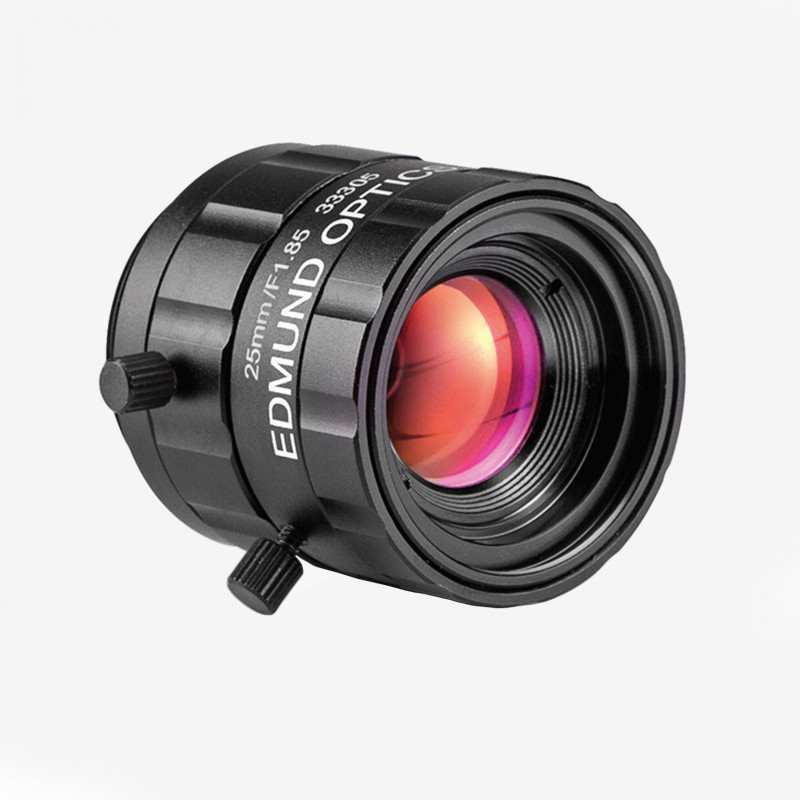 "Objektiv, Edmund, TECHSPEC UC-Series, 25 mm, 1/2"" C-Mount. 1/1.8"". 25 mm. Edmund. AE00181"