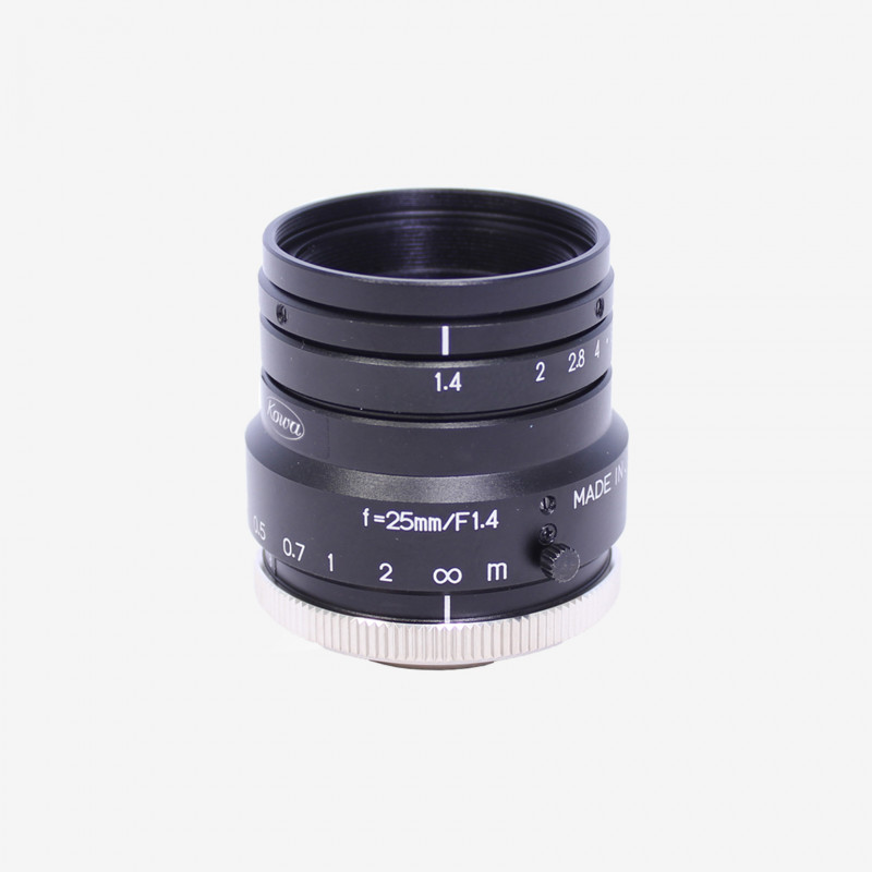 "Objetivo, Kowa, LM25HC, 25 mm, 1"""
