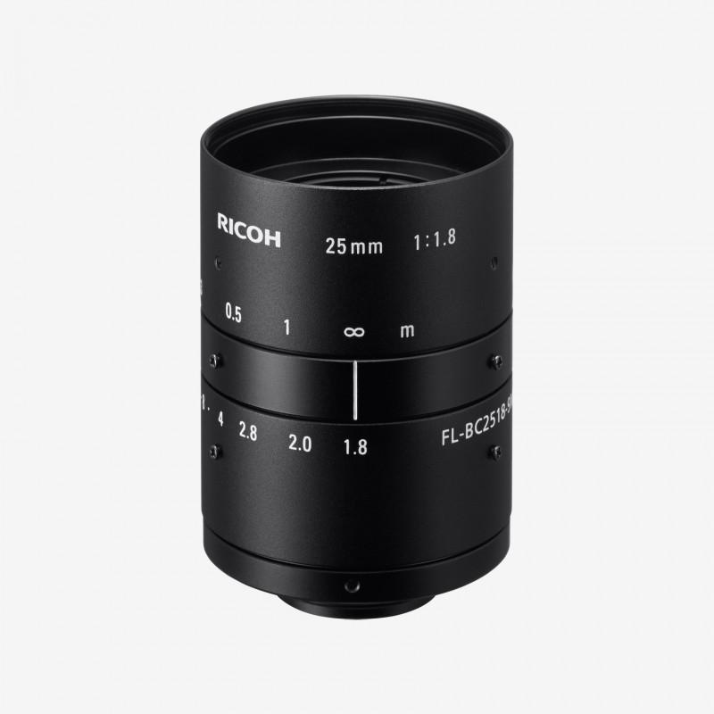 """Objetivo, RICOH, FL-BC2518-9M, 25 mm, 1"""""""