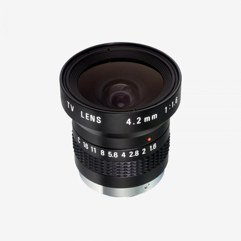 "Lens, RICOH, FL-HC0416X-VG, 4.2 mm, 1/2"" C-Mount. 1/2"". 4.2 mm. Ricoh. AE005020200001"