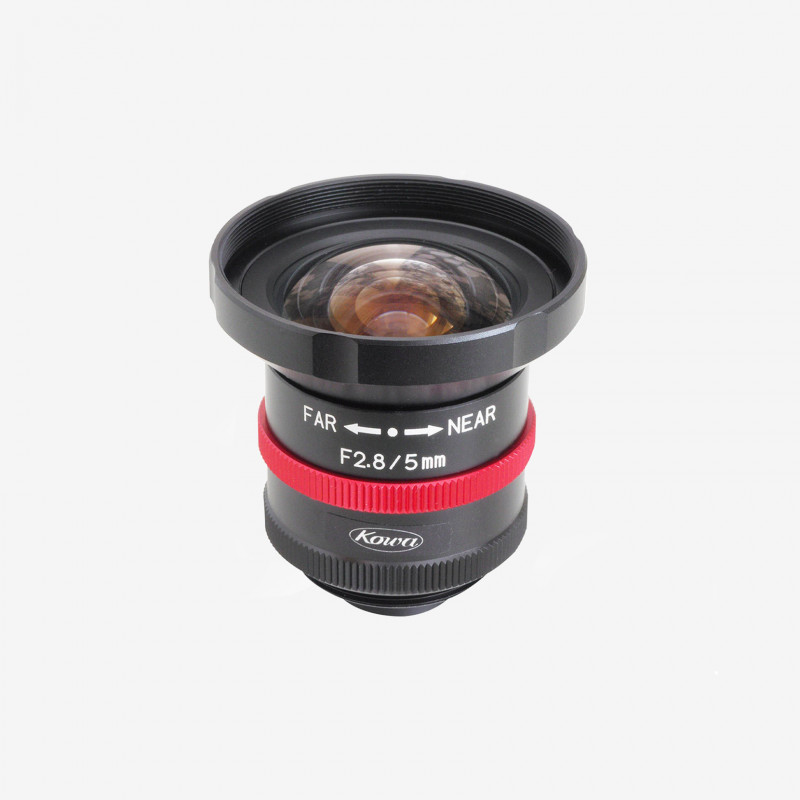 Lens, Kowa, LM5JCM-WP, 5 mm, 2/3""