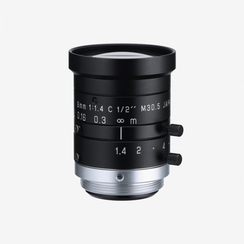 "Objetivo, RICOH, FL-HC0614-2M, 6,0 mm, 1/2"""